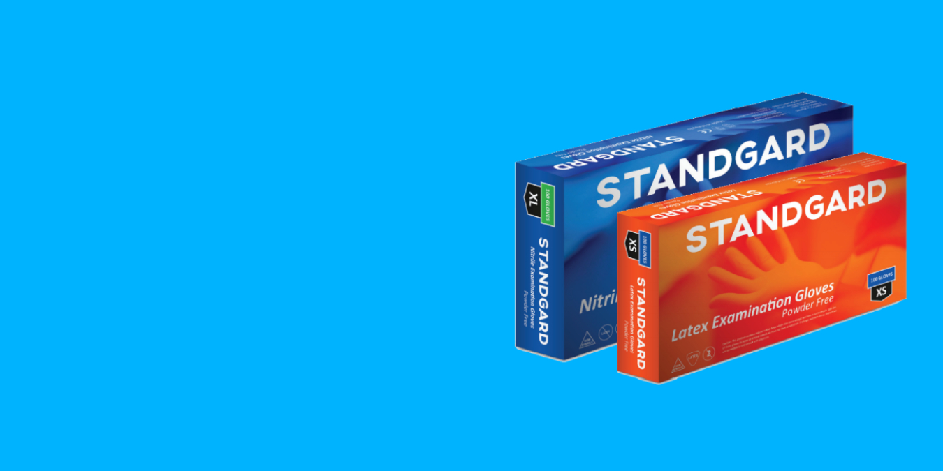 WE ARE NOW AN AUTHORISED DISTRIBUTOR OF STANDGARD BRAND by Hartalega FOR UAE.
